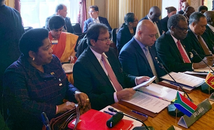 Lanka appreciates support  extended by the Commonwealth in the  Easter Sunday tragedy