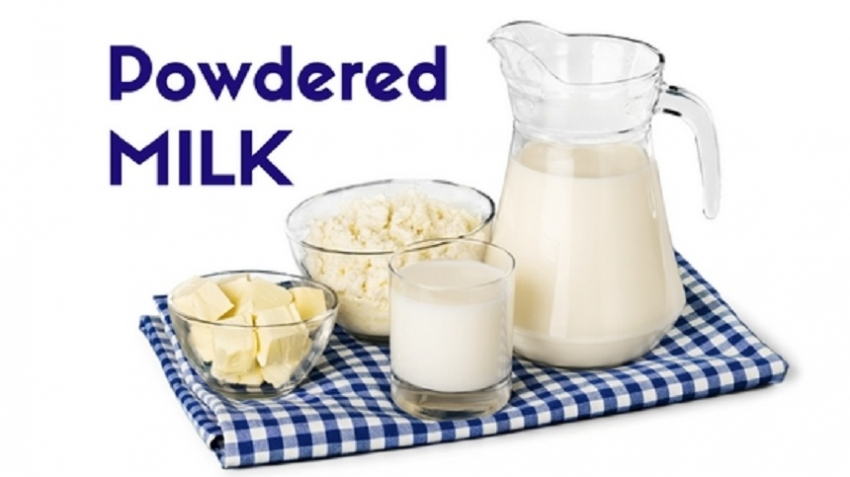 Powdered milk prices increased
