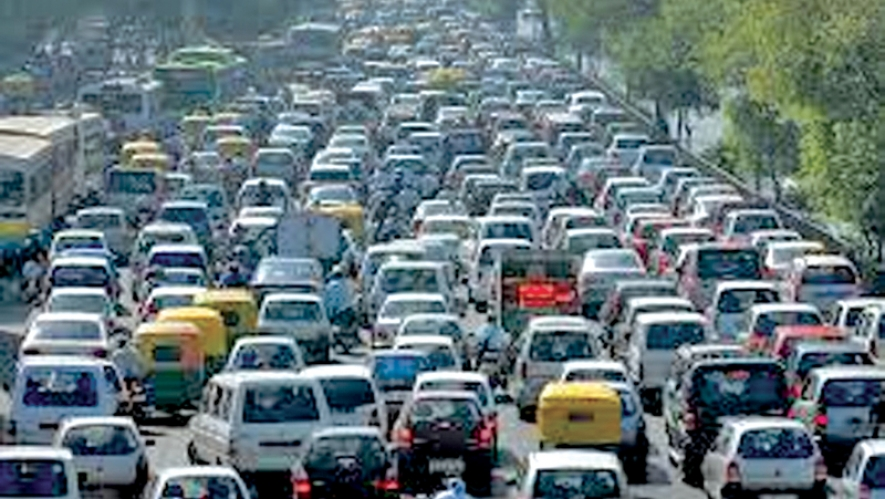 Lanka's vehicle population tops 7.2 mn in 2017