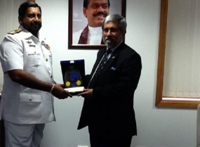 Commander Australian Boarder Protection Command visits Eastern Naval Area