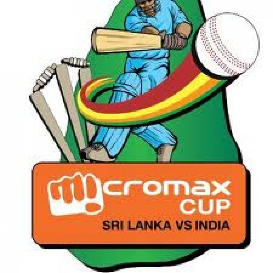 Micromax Cup Inida vs Sri Lanka match itinerary released