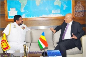 Seychelles Ambassador calls on Navy Commander