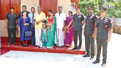 More expats sponsor Army projects in Jaffna