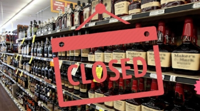 Liquor shops to be closed for New Year