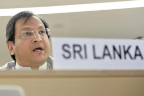 Sri Lanka says humanitarian crises can be overcome with political commitment