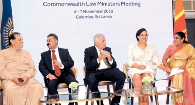 Commonwealth Law Ministers Meeting inaugurated