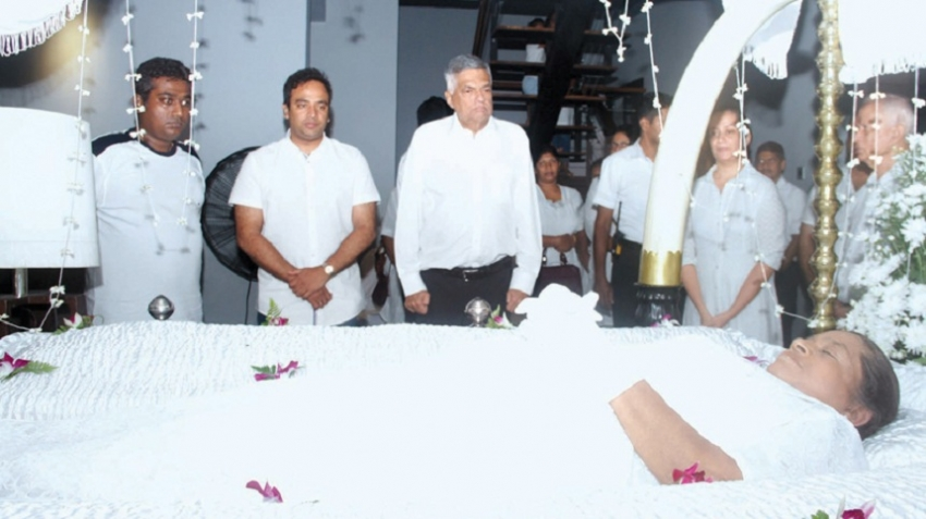 PM PAYS LAST RESPECTS TO VETERAN JOURNALIST