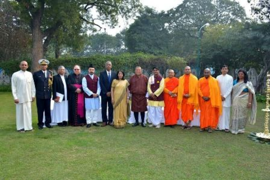 High Commission in New Delhi celebrates 69th Anniversary of Independence