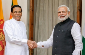 The Official Meeting between President of Srilanka and the Prime Minister of  India