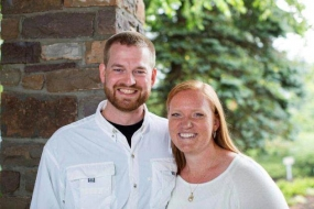 This undated photo provided by Samaritan's Purse shows Kent Brantly and his wife, Amber. A spokesperson for the Samaritan's Purse aid organisation said that Dr. Brantly, one of the two American aid workers infected with Ebola in Africa, would be discharged on Thursday.
