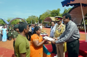 First Batch of Newly Recruited Jaffna Soldiers Pass Out