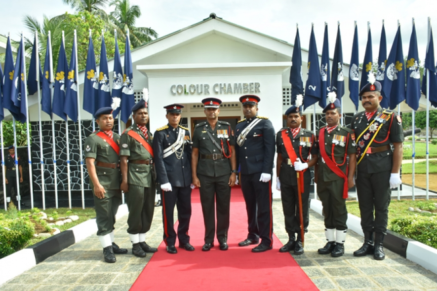 SLLI Colours Enshrined in Special Chamber