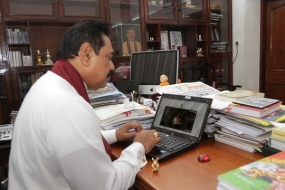 President Rajapaksa Launches Special Website on His Engagements at the UN