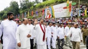 President inaugurates construction work on Northern and Kandy  Expressways