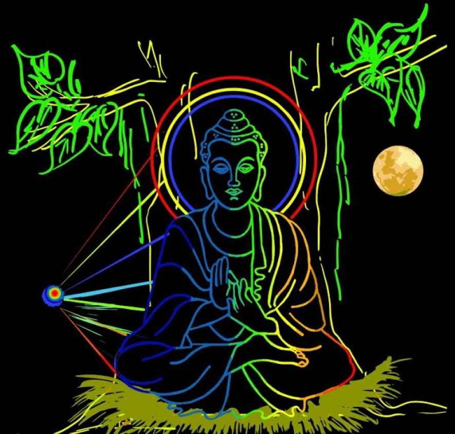 Image result for vesak pandal laser in galle face