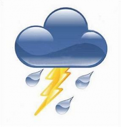 Possibility for evening thunder showers from tomorrow