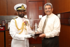 Outgoing Navy Commander calls on Secretary Defence