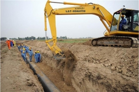 Govt. allocates Rs.214.93mn for Hambantota pipe laying Project