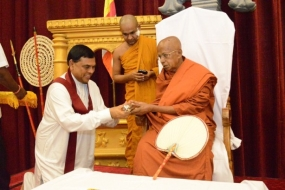 Most Ven. Beligalle Siri  Jinawansabhidana Maha Nayaka Thero appointed as  Mahanayake of Dheerananda Sangha Sabha.