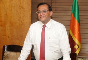 Udaya R. Seneviratne assumes duties as Secretary to President