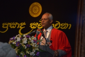 Prasada Sambhavana: University of Kelaniya felicitates distinguished Alumni of the University