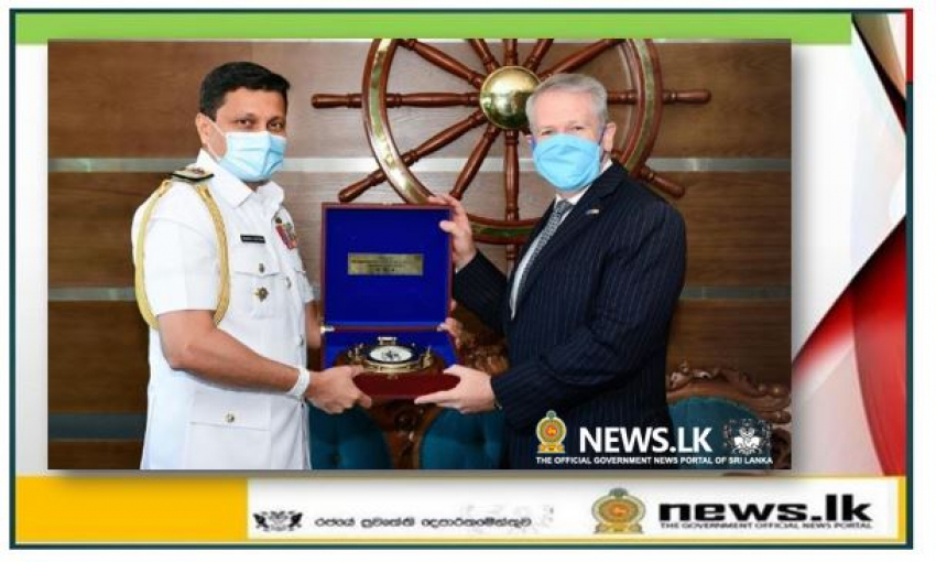 Australian High Commissioner calls on Commander of the Navy