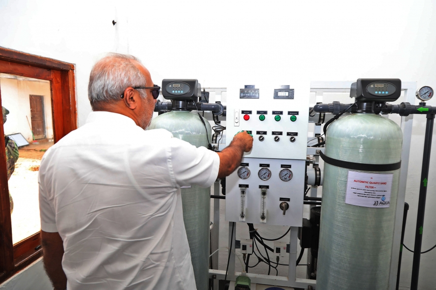 Water Supply to Vavuniya  District  be increased by 30%
