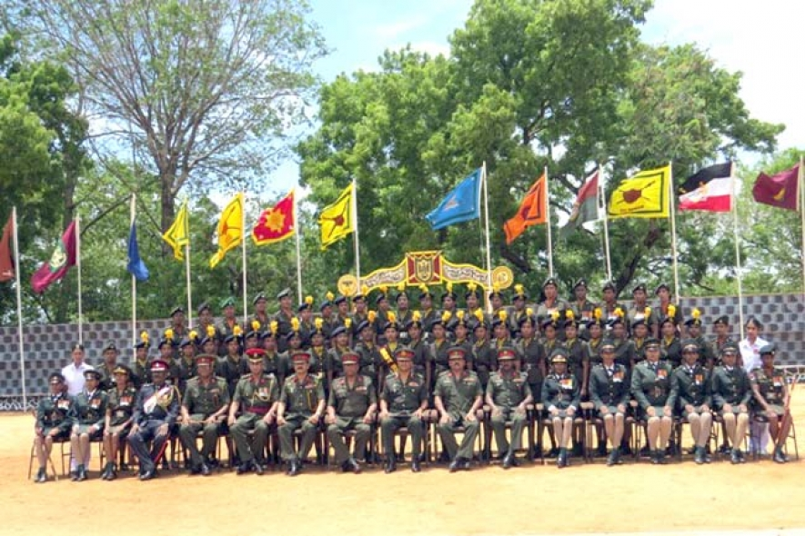 Grand Ceremony to Pass Out Tamil Women Recruits