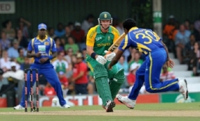 SL and S/ African cricketers raise funds for the Lanka's Visually Handicapped XI