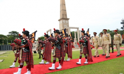 Annual War Heroes' Commemoration Held at Battaramulla Monument