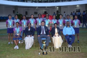 SLAF TTS Ekala Wins the Inter Unit Netball Championship 2015