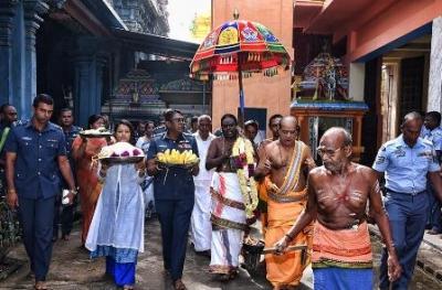 SLAF annual Hindu Religious Ceremony held