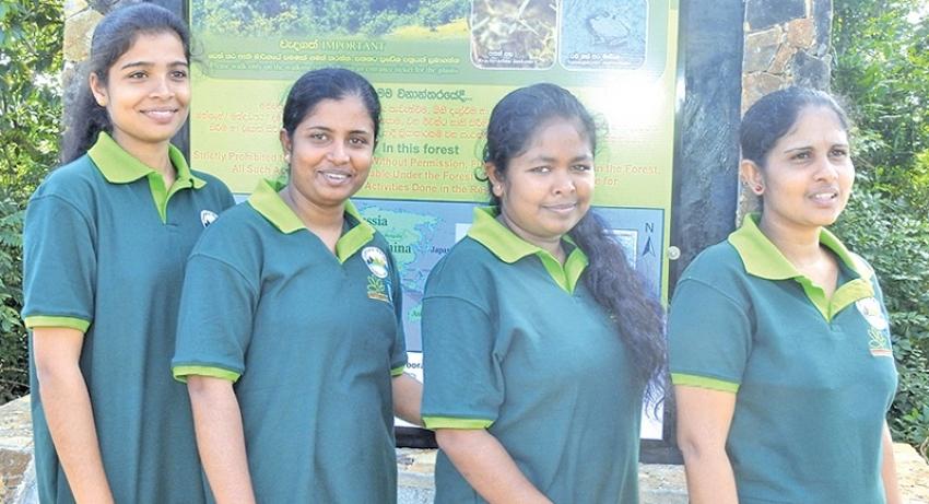 Dumbara women to guide tourists