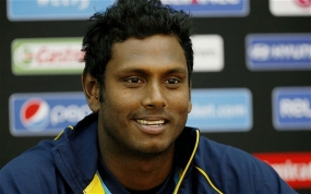 Angelo Mathews Nominated for 2014 ICC People's Choice Award