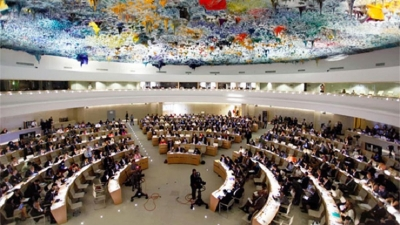 UN Human Rights Council meeting begins today