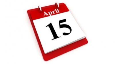 April 15 declared a holiday