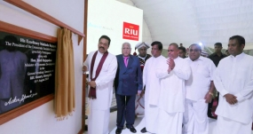 Aitken  Spence Breaks Ground  for RIU Resort, Ahungalla