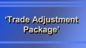 Trade Adjustment Package' discussion paper prepared