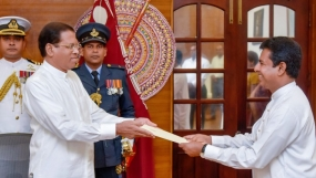 BuddhikaPathirana sworn in as Deputy Minister of Industries and Commerce