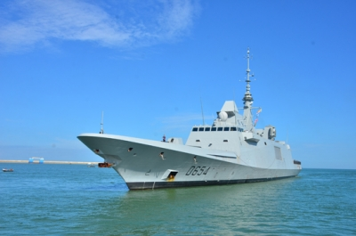 French Naval ship in Colombo