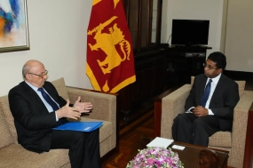 Romanian Ambassador meets Sri Lankan Dy.Foreign Minister
