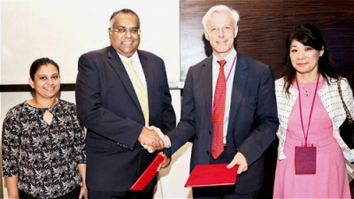 Ceylon Chamber signs MOU with Zurich Swiss-Asian Chamber