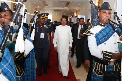 President graces 'Colombo Air Symposium 2018' inaugural ceremony