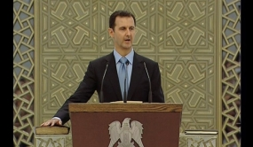 Syrian President Assad sworn in for 3rd term