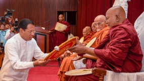 Duties on behalf of the Buddhism and the Bhikkus will be fulfilled – President
