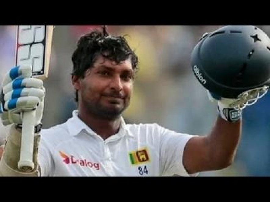 Sanga passes 12,000 Test runs