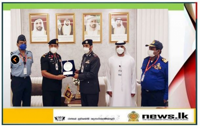 Chief of Staff Heads Delegation to UAE Defence Exhibition