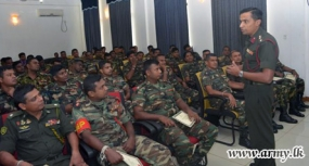 Conduct of Balanced Life Taught to Army Personnel