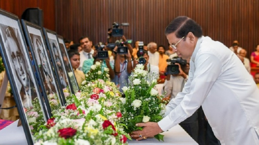 Commemorate ceremony to Sri Lankan leaders