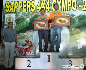 'Sappers 4 X 4 Gympo 2015' Produces New Records with Racing Drivers & Riders